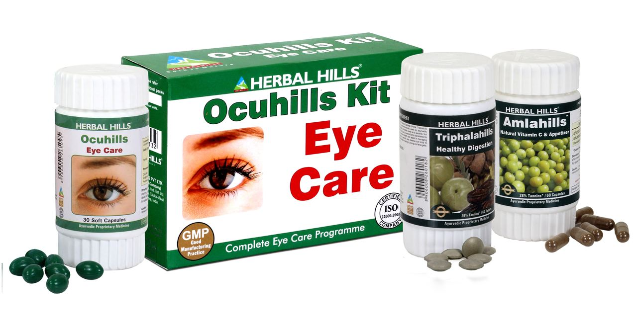 Care health herbal manufacturer product - Picture Of Ocuhills Kit Advertisement