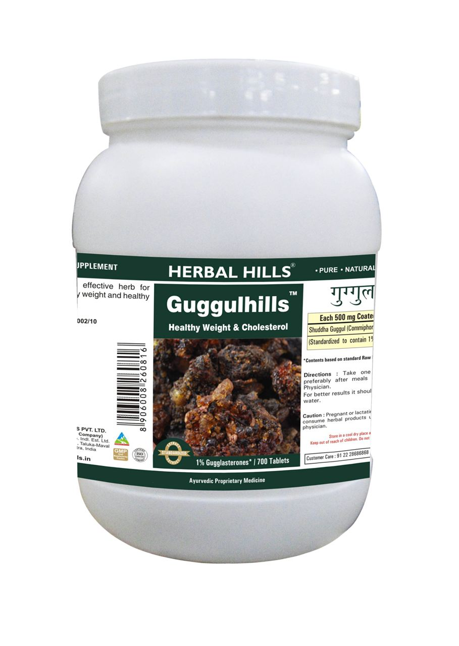 Care health herbal manufacturer product - Picture Of Guggulhills 700 Tablets Advertisement