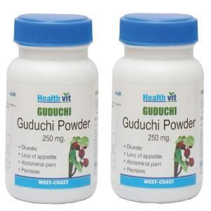 Picture of HealthVit Guduchi Powder 250 mg 60 Capsules (Pack Of 2)