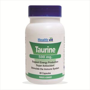 Picture of Healthvit Taurine 500mg 60 Capsules
