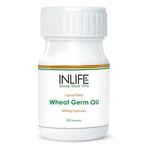 Picture of INLIFE Wheat Germ Oil (60 Caps)