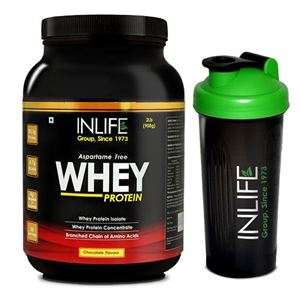 Picture of INLIFE Whey Protein 2Lb (Chocolate Flavour)