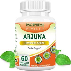 Picture of Morpheme Terminalia Arjuna Cardiac Support - 500mg Extract - 60 Veg Capsules