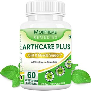 Picture of Morpheme Arthcare Plus Capsules for Joint & Muscle Support - 500mg Extract - 60 Veg Capsules