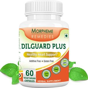 Picture of Morpheme Dilguard Plus for Healthy Heart Support - 500mg Extract - 60 Veg Capsules