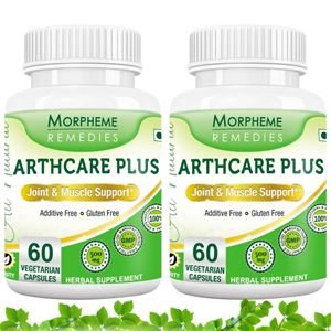 Picture of Morpheme Arthcare Plus Capsules for Joint & Muscle Support - 500mg Extract - 60 Veg Capsules - 2 Bottles