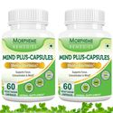 Picture of Morpheme Memocare Plus For Mental Alertness - 500mg Extract - 60 Veg Capsules - 2 Bottles