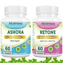 Picture of Morpheme Combo Supplements For Regular Menstrual Cycle, Yellow Discharge-2 bottles