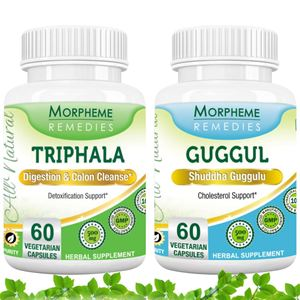 Picture of Morpheme Combo Supplements For Colon Cleansing & Cholesterol-2 bottels