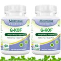 Picture of Morpheme G-Kof Capsules for Respiratory Support - 500mg Extract - 60 Veg Capsules - 2 Bottles