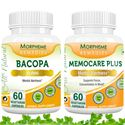 Picture of Morpheme Herbal Supplements To Increase Memory & Relieve Stress-2 bottels
