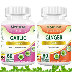 Picture of Morpheme Combo Supplements For Digestive Health-2 bottles