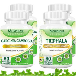 Picture of Garcinia Cambogia  (HCA >60%) With Triphala For Effective Weight Loss (4 Bottles)