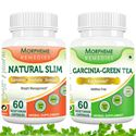 Picture of Morpheme Garcinia Cambogia Green Tea + Natural Slim Supplement For Weight Loss-2 Bottles