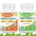 Picture of Morpheme Trim Formula + Triphala Guggul Supplement For Weight Loss-2 bottels