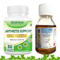 Picture of Morpheme Arthritis Support + Arthcare Oil For Back Pain, Joint Pain & Arthritis-2 bottels