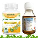 Picture of Morpheme Boswellia Curcumin Plus + Arthcare Oil For Joint Support-2 Bottles