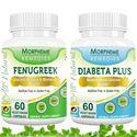 Picture of Morpheme Fenugreek + Diabeta Plus For Glucose Balance, Diabetes