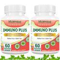 Picture of Morpheme Immuno Plus For Immune Defense - 500mg Extract - 60 Veg Capsules - 2 Bottles