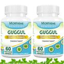 Picture of Morpheme Guggul (Commiphora Mukul) for Cholesterol Support - 500mg Extract - 60 Veg Capsules - 2 Bottles