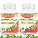 Picture of Morpheme Triphala Guggul + Complete Detox For Complete Body Cleansing and Weight Loss