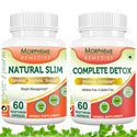 Picture of Morpheme Natural Slim + Complete Detox For Complete Body Cleansing and Weight Loss