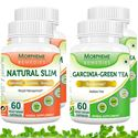 Picture of Morpheme Garcinia Cambogia Green Tea + Natural Slim Supplement For Weight Loss (4 Bottles)