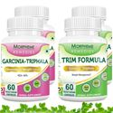 Picture of Morpheme Garcinia Cambogia Triphala + Trim Formula Supplement For Weight Loss (4 Bottles)