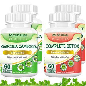 Picture of Morpheme Garcinia Cambogia + Complete Detox For Immune Defense (4 Bottles)