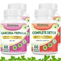 Picture of Morpheme Garcinia Cambogia Triphala + Complete Detox For Complete Body Cleansing and Weight Loss (4 Bottles)
