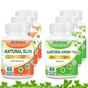 Picture of Morpheme Garcinia Cambogia Green Tea + Natural Slim Supplement For Weight Loss (6 Bottles)
