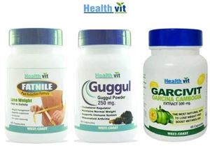 Picture of HealthVit Fat Reducing & Weight Management Kit-60 Capsules