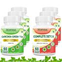 Picture of Morpheme Garcinia Cambogia Green Tea + Complete Detox (6 Bottles)