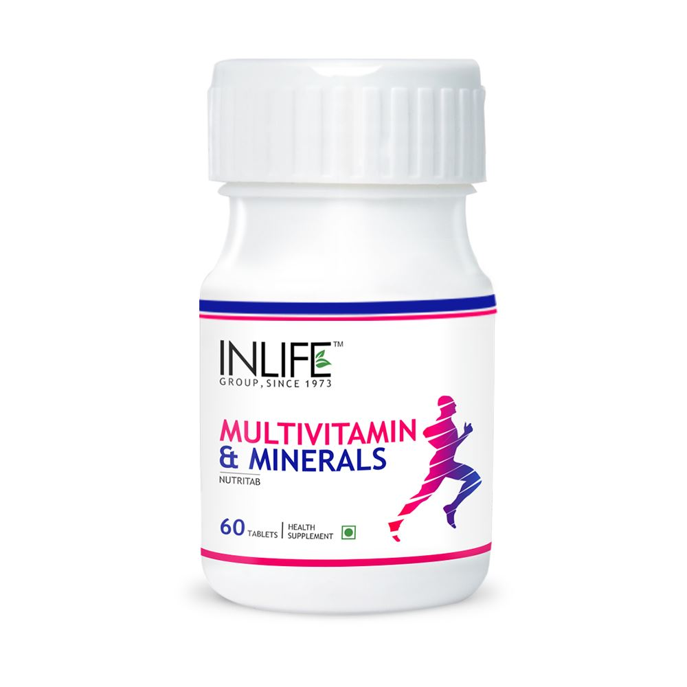 Care from health herbal india product - Picture Of Inlife Multivitamin Minerals 60 Tabs Advertisement