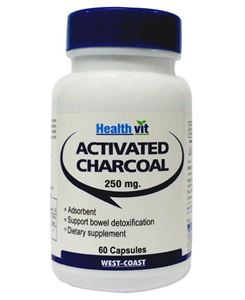 Picture of Healthvit Charcoal Activated 250mg 60 Capsules
