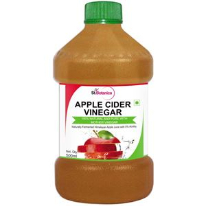 Picture of StBotanica Apple Cider Vinegar - 500ml - 100% Natural and Pure - #1 Selling
