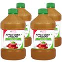 Picture of StBotanica Apple Cider Vinegar - 500ml Pack Of 4 - 100% Natural and Pure - #1 Selling
