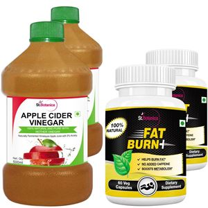 Picture of StBotanica Apple Cider Vinegar + Fat Burn+ (2+2 Bottles)