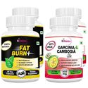 Picture of StBotanica Fat Burn+ + Garcinia Cambogia Slim 60 Veg Caps (2+2 Bottles)