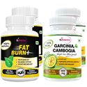 Picture of StBotanica Fat Burn+ + Garcinia Cambogia 60% HCA 800mg 90 Veg Caps (2+2 Bottles)
