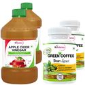 Picture of StBotanica Apple Cider Vinegar + Green Coffee Bean Extract (2+2 Bottles)