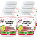 Picture of StBotanica Garcinia Cambogia Slim For Weight Loss - 100% Pure 500mg Extract - 60 Veg Caps - Pack Of 6