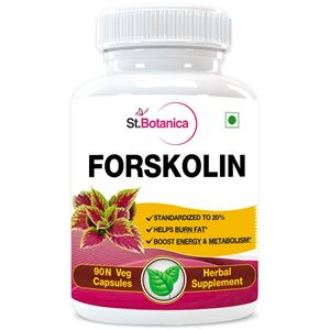 Picture of StBotanica Forskolin 500mg Extract - 90 Veg Capsules
