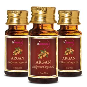 Picture of StBotanica Argan Pure Coldpressed Carrier Oil, 30ml - 3 Bottles