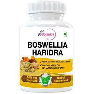 Picture of StBotanica Boswellia Turmeric 500mg Extract - 90 Veg Capsules