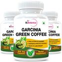 Picture of StBotanica Garcinia Green Coffee for 500mg Extract - 90 Veg Capsules - 3 Bottles