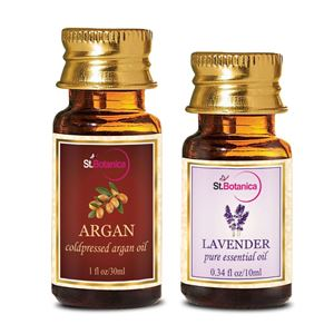 Picture of StBotanica Argan Oil (30ml) + Lavender Pure Essential Oil (10ml)