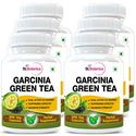 Picture of StBotanica Garcinia Green Tea 500mg Extract - 90 Veg Capsules - 6 Bottles