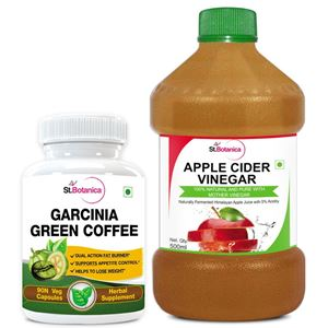 Picture of StBotanica Garcinia Green Coffee 500mg Extract + Apple Cider Vinegar