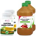 Picture of StBotanica Garcinia Green Coffee 500mg Extract + Apple Cider Vinegar (2+2 Bottles)